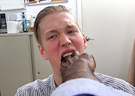 mommas boy comes clean on my big black dick